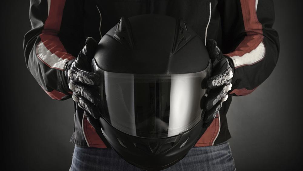 post-capacete